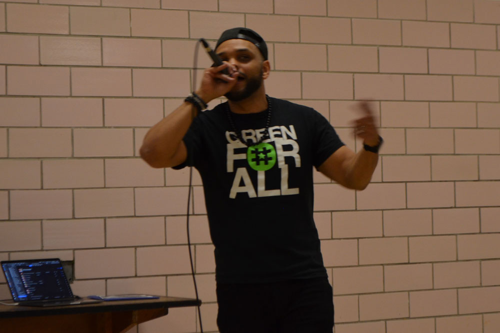 Tem Blessed, talented Climate Rapper featured in Agawam.