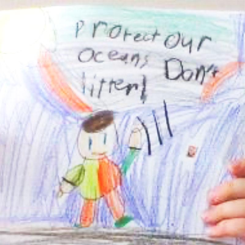 Agawam Grade 2 Protect Oceans